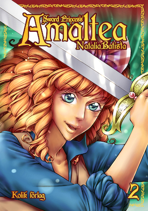 Sword princess Amaltea: Bok 2.